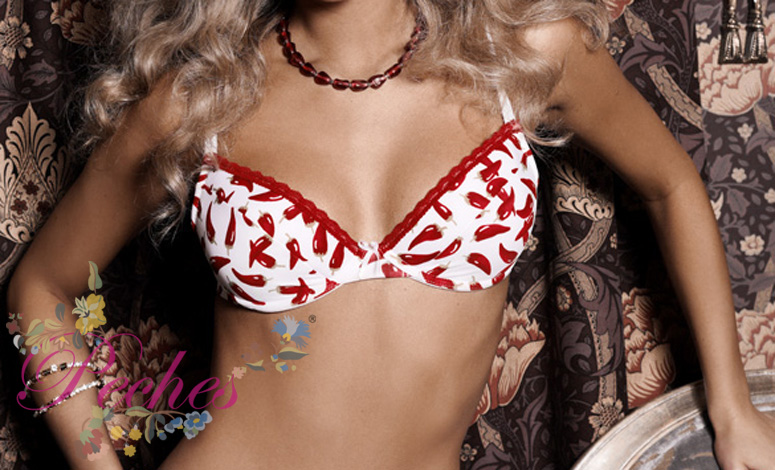A Push Up Underwire Bra