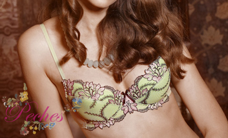 Demi Cup Bra With Lace Work