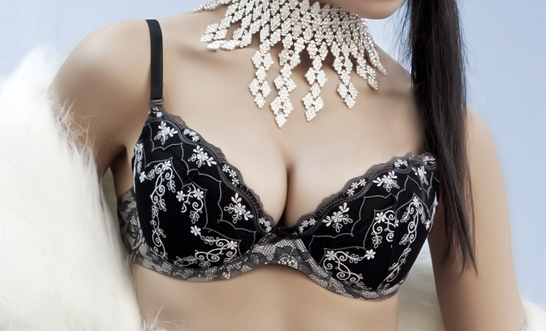 Underwired With Removable Push Up Bra