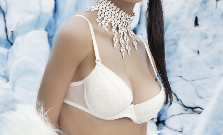 Push Up Bra With Underwire Cup